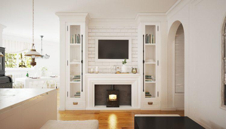 3D Interior Kitchen- Livingroom 16 Scenes File 3dsmax Free Dowload 5