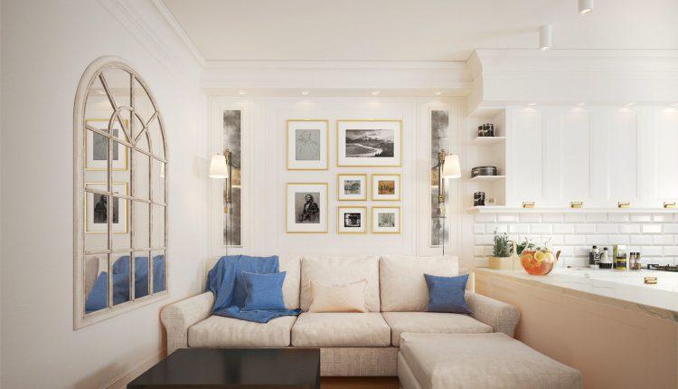 3D Interior Kitchen- Livingroom 16 Scenes File 3dsmax Free Dowload 6