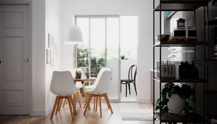 3D Interior Scenes File 3dsmax Model Scandinavian Small House 6