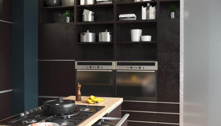 3D Model Kitchen 168 Free Dowload 1
