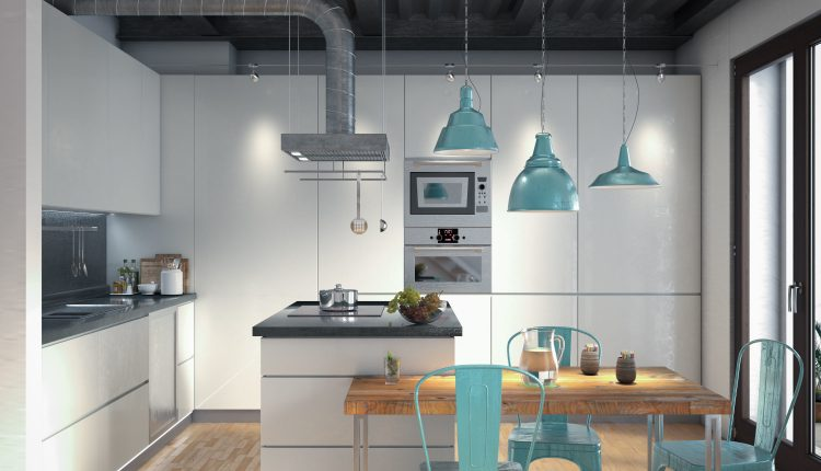 3D Model Kitchen 171 Free Dowload 1