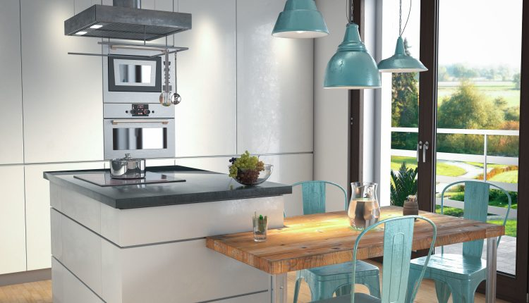 3D Model Kitchen 171 Free Dowload 3