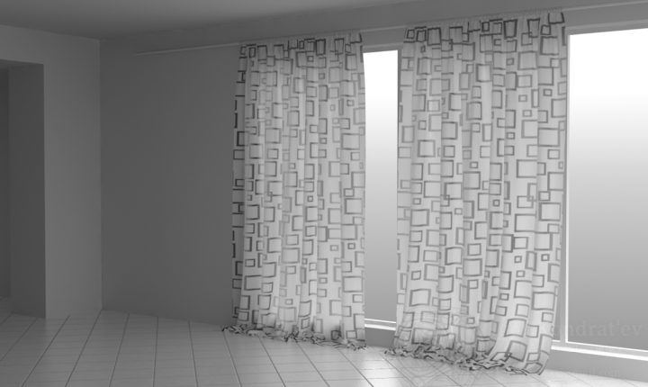 3d Curtain Model 74 Free Download 3