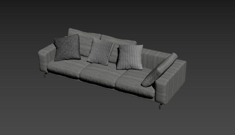 Free 3D Sofa 178 Model Download (1)