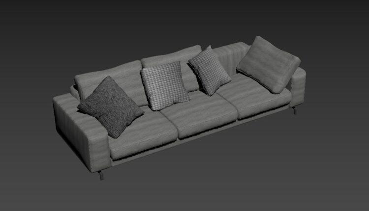 Free 3D Sofa 178 Model Download (2)