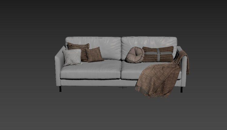 Free 3D Sofa 180 Model Download (1)