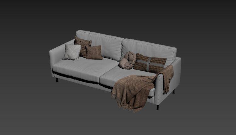 Free 3D Sofa 180 Model Download (2)