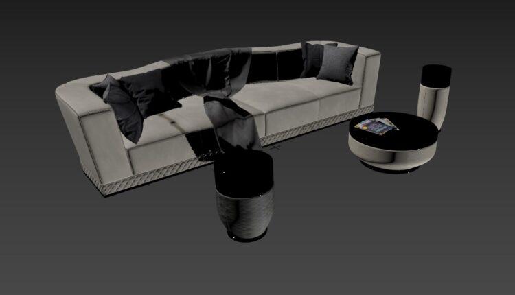 3D Model Sofa 188 Free Download By Nguyen Ha (1)