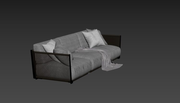 Free 3D Sofa 189 Model Download (1)