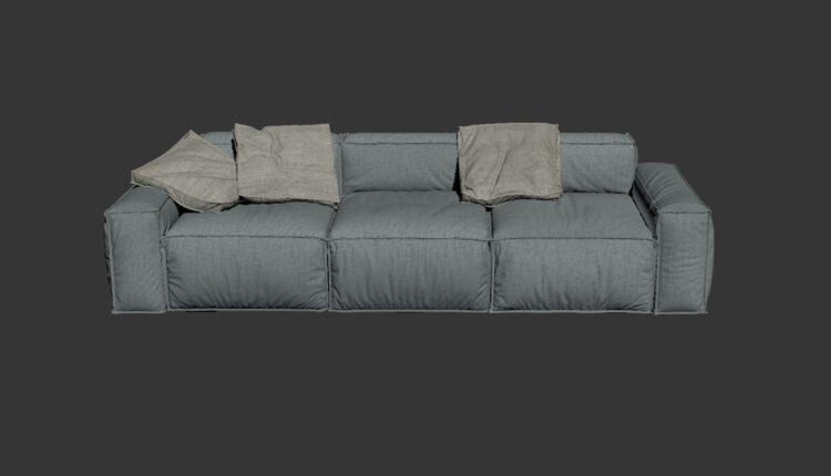 3D Model Sofa 194 Free Download (1)