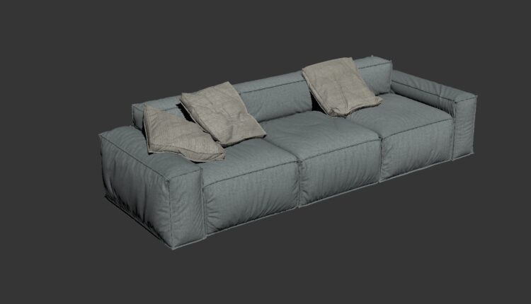 3D Model Sofa 194 Free Download (2)