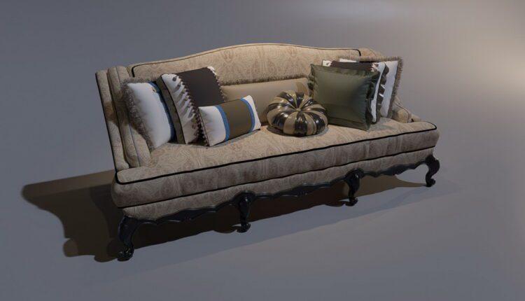 3D Model Sofa 196 Free Download (1)