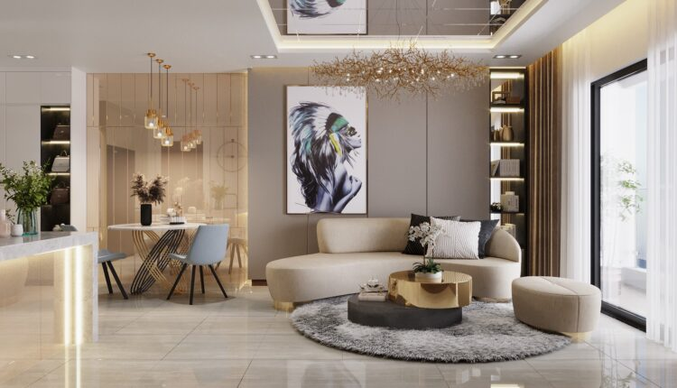3D Interior Apartment 119 Scene File 3dsmax By Nguyen Huu Cong
