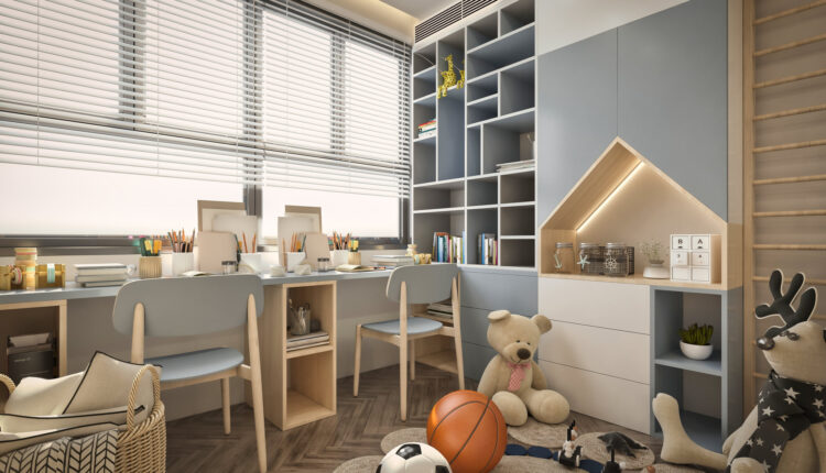 3D Model Interior Children Room 4 Free Download By Nguyen Thanh Dat