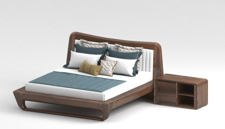 3D Bed Oc Cho Model 193 Free Download