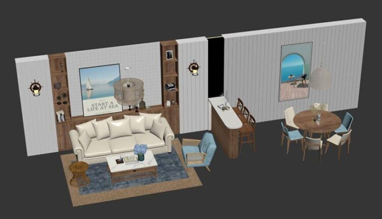 3D Decor Model File 3dsmax Free Download By Nguyen NgocTung 1