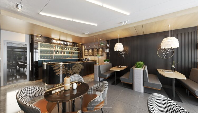 3D Model Interior Coffee 36 Scenes File Sketchup Free Download By Ha Anh