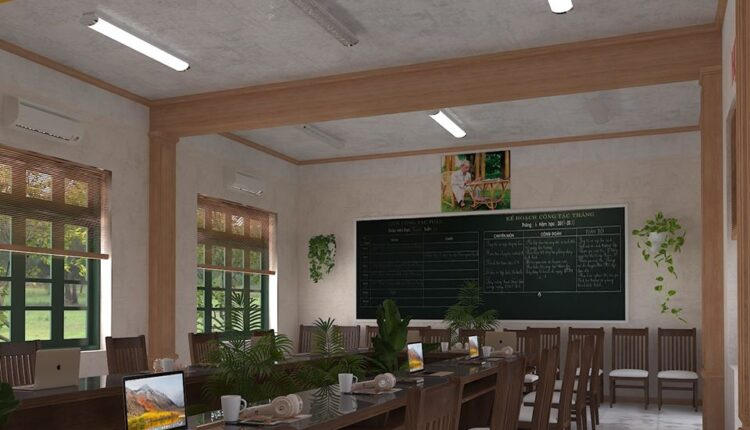 3D Model Meeting room Scene Free Download by Ma Nho HT 3