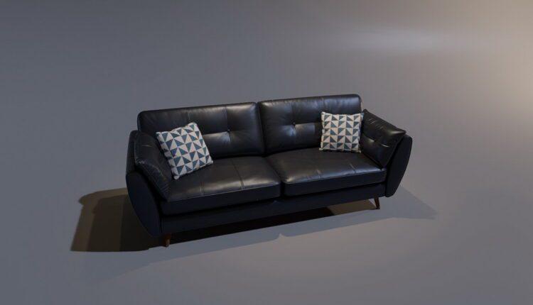 3D Model Sofa 2 By MinhNguyen Free Download (1)