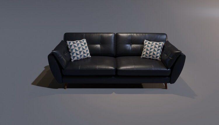 3D Model Sofa 2 By MinhNguyen Free Download (2)