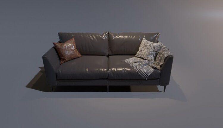 3D Model Sofa 3 By MinhNguyen Free Download (2)