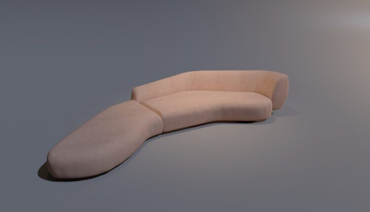 3D Model Sofa By DamQuangTrung Free Download (2)