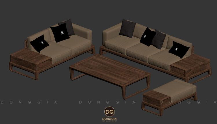 3D Model Sofa Free Download By DongMinhHau