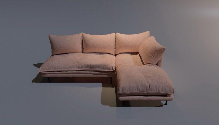 3D Model Sofa LoftDesigne 206 free download (1)