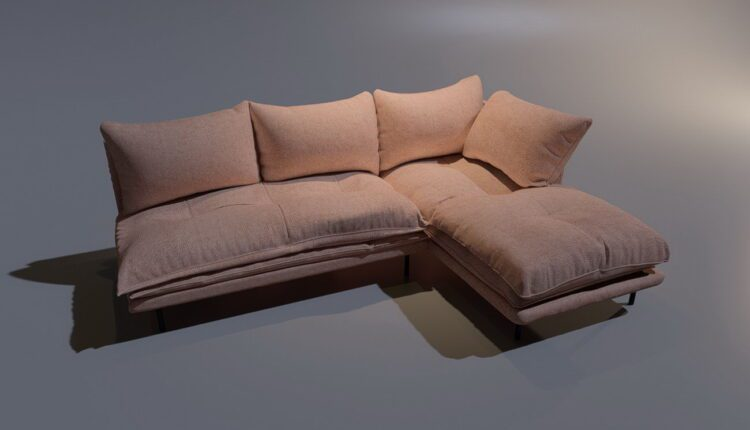 3D Model Sofa LoftDesigne 206 free download (2)