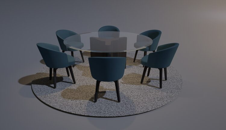 3D Table And Chair Free Download 2020-10 (1)
