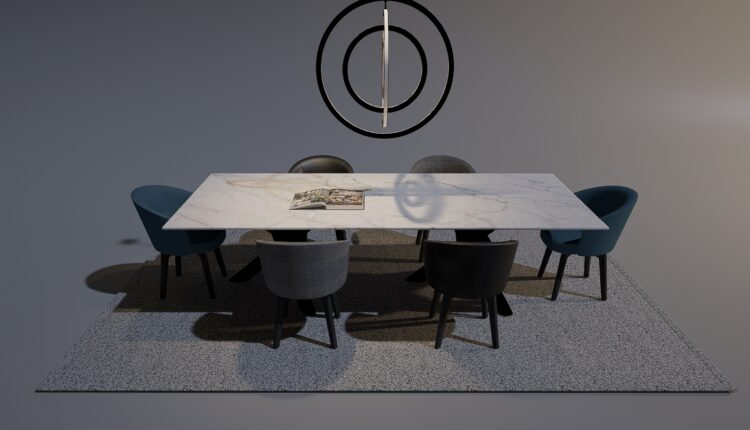 3D Table And Chair Free Download 2020-10 (2)