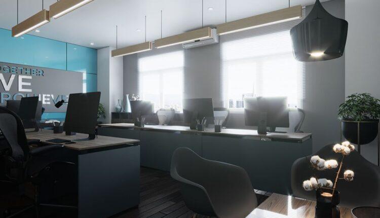 3d Interior Office Room 20 Scene File 3dsmax Model By Quy Ta 5