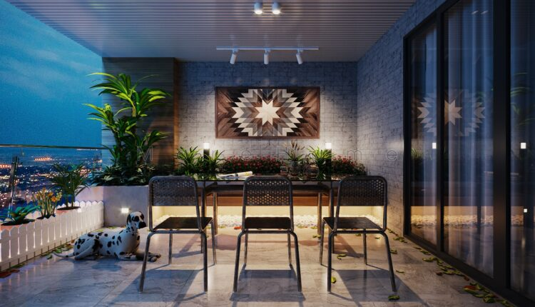3D Exterior Balcony 5 Scene File 3dsmax By NguyenHuuNghia 1