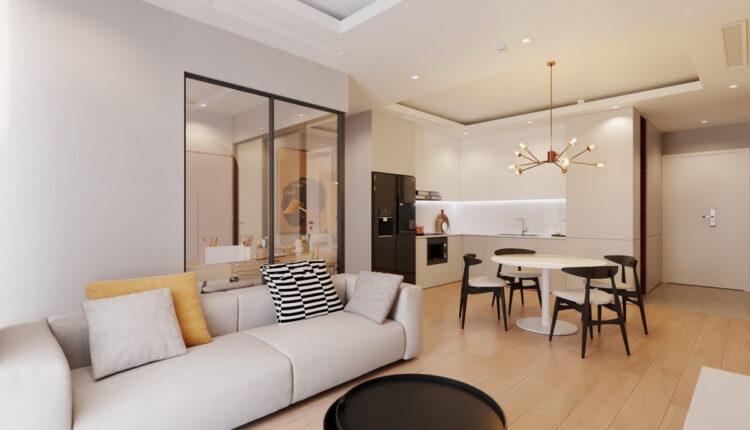3D Interior Apartment 134 Scene File 3dsmax By DucNguyen