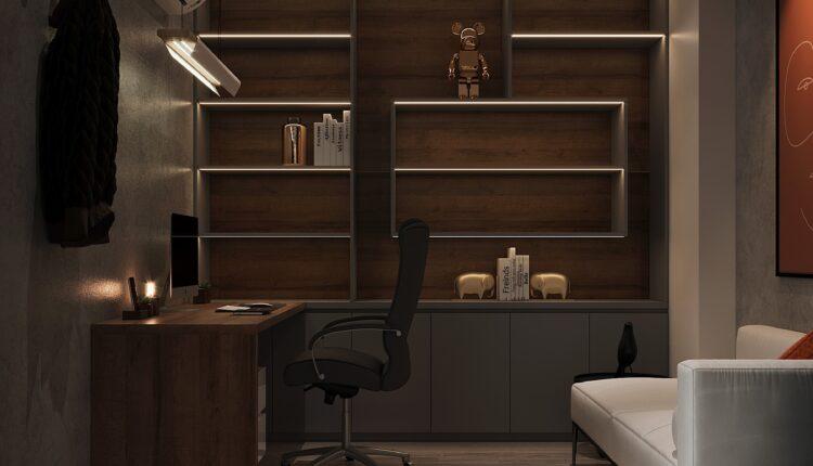 3D Interior Apartment 138 Scene File 3dsmax By DoanHaiTrung