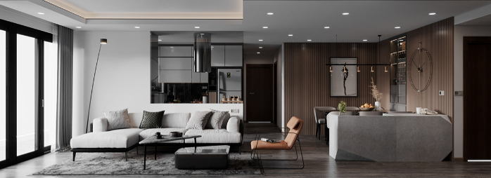3D Interior Apartment 140 Scene File 3dsmax By NguyenDucThuan 8