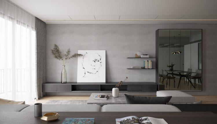 3D Interior Kitchen – Livingroom 119 Scene 3dsmax By VinhVan 2