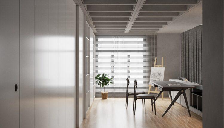 3D Interior Kitchen – Livingroom 119 Scene 3dsmax By VinhVan 4