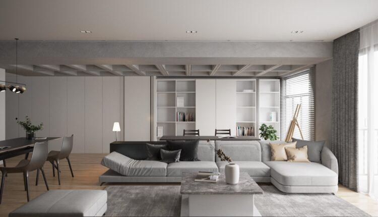 3D Interior Kitchen – Livingroom 119 Scene 3dsmax By VinhVan 7