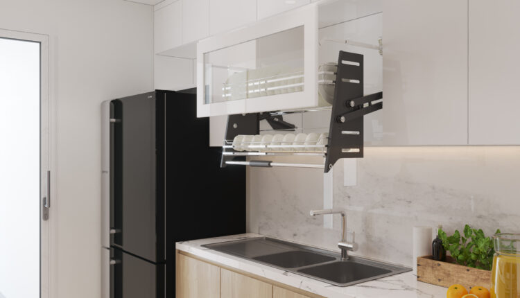 3D Interior Kitchen – Livingroom 120 Scene 3dsmax By NguyenVietAnh 3