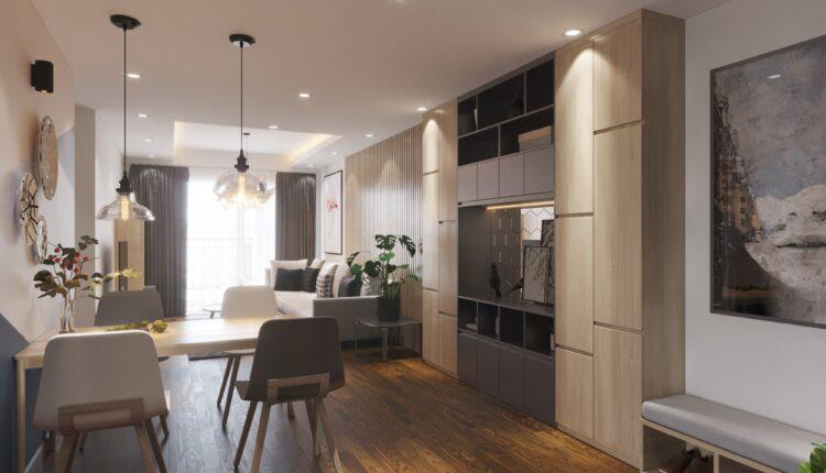 3D Interior Kitchen – Livingroom 120 Scene 3dsmax By NguyenVietAnh 4