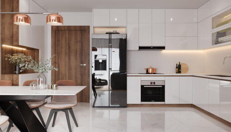 3D Interior Kitchen – Livingroom 121 Scene 3dsmax By VanHaiTran 2