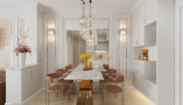 3D Interior Kitchen – Livingroom 125 Scene 3dsmax By NguyenThaiNguyen 5