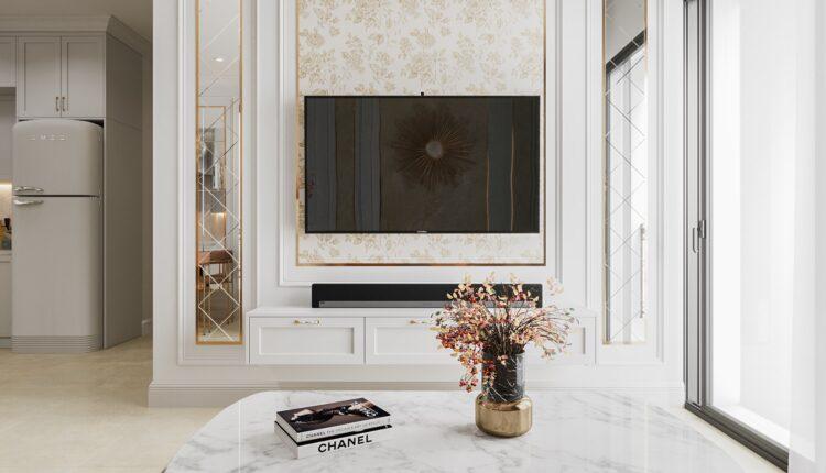 3D Interior Kitchen – Livingroom 125 Scene 3dsmax By NguyenThaiNguyen 7