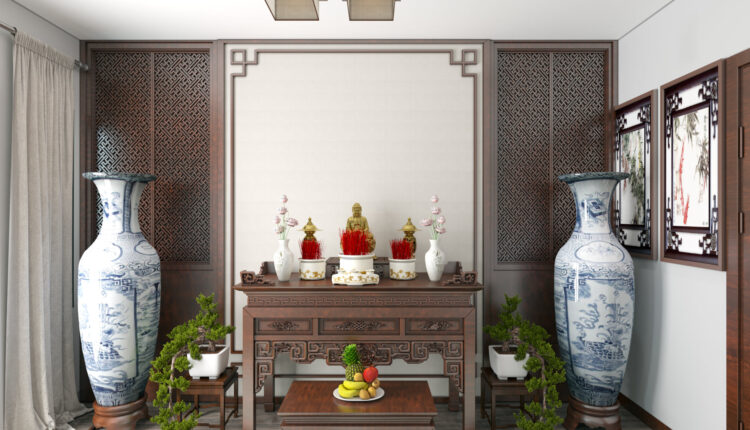 3D Interior Scenes File 3dsmax Model Altar Room 15 By ThangThachThat