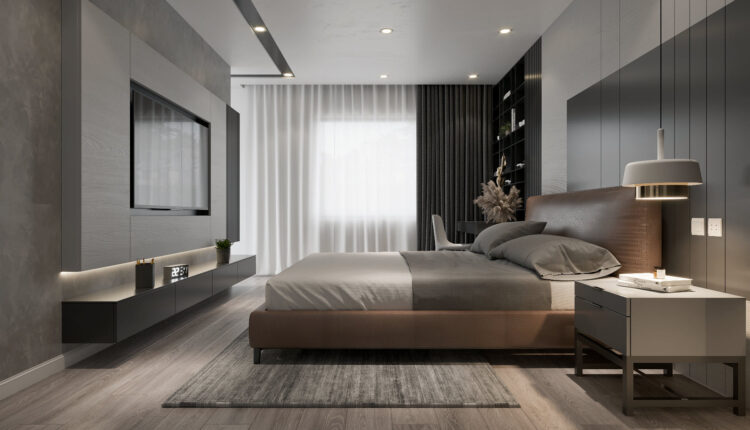 3D Interior Scenes File 3dsmax Model Bedroom 329 By Nguyen Ha