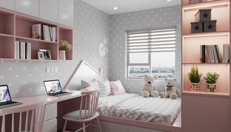 3D Model Interior Children Room 7 Free Download By PhuTran 3