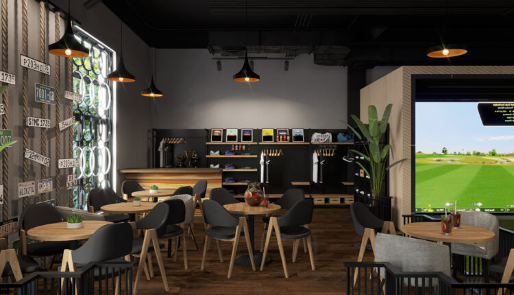 3D Model Interior Coffee 46 Scenes File 3dsmax By ManhBui 2