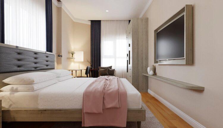 3D Model Interior Hotel Bedroom Scenes File 3dsmax By KhiemPham 5