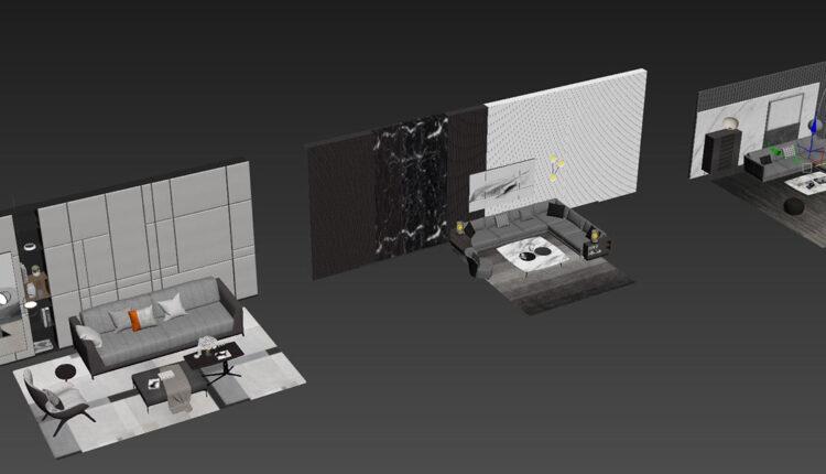 3D Model Sofa 210 By DoanNguyen Free Download